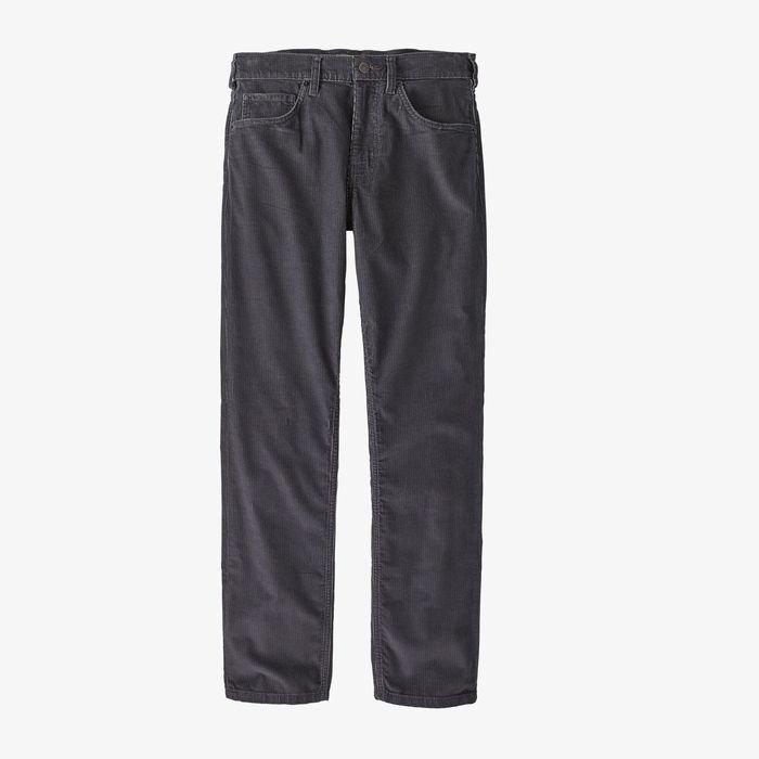 Patagonia Men's Organic Cotton Corduroy Jeans pantaloni vellutino uomo grigi