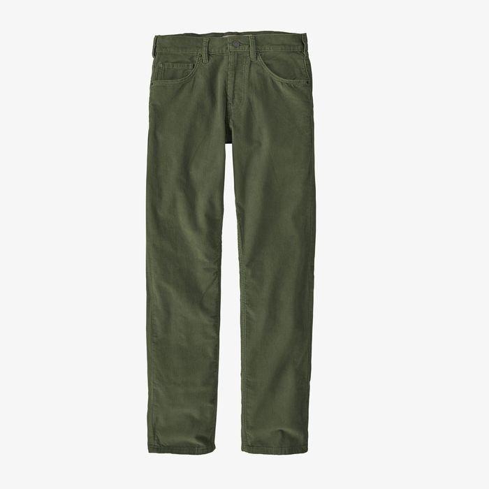 Patagonia Men's Organic Cotton Corduroy Jeans pantaloni velluto verdi uomo ragazzo